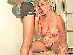 Granny wants a young hard dick