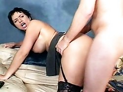Cock crazy milf gal got cunt fucked massively hard