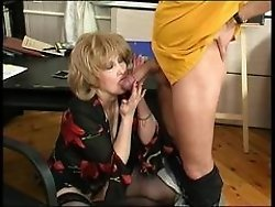 Elinor&Donald nasty mature video